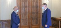 Patronul combinatului siderurgic Liberty Galați s-a întâlnit cu preşedintele Klaus Iohannis la Cotroceni