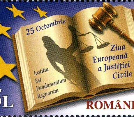 25 octombrie  - Ziua Europeană a Justiției Civile