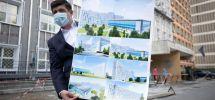 Galerie foto/Vechiul spital devine noul spital. Lucrare de proporții la Spitalul Județean Galați